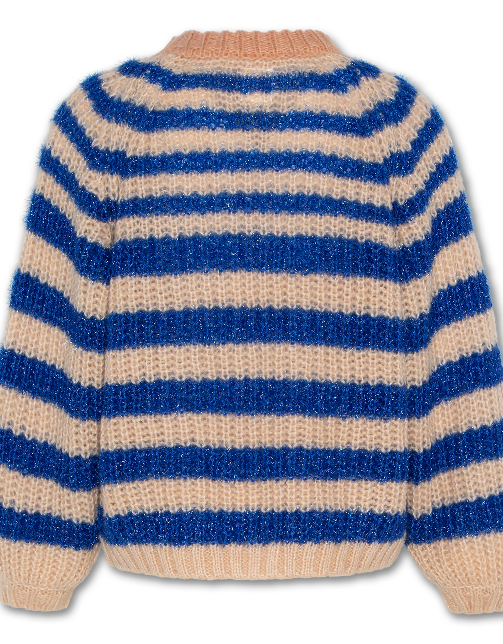 AMERICAN OUTFITTERS AO76 c-neck stripe limoges blue