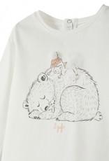 IL GUFO IL GUFO T-shirt met tekening