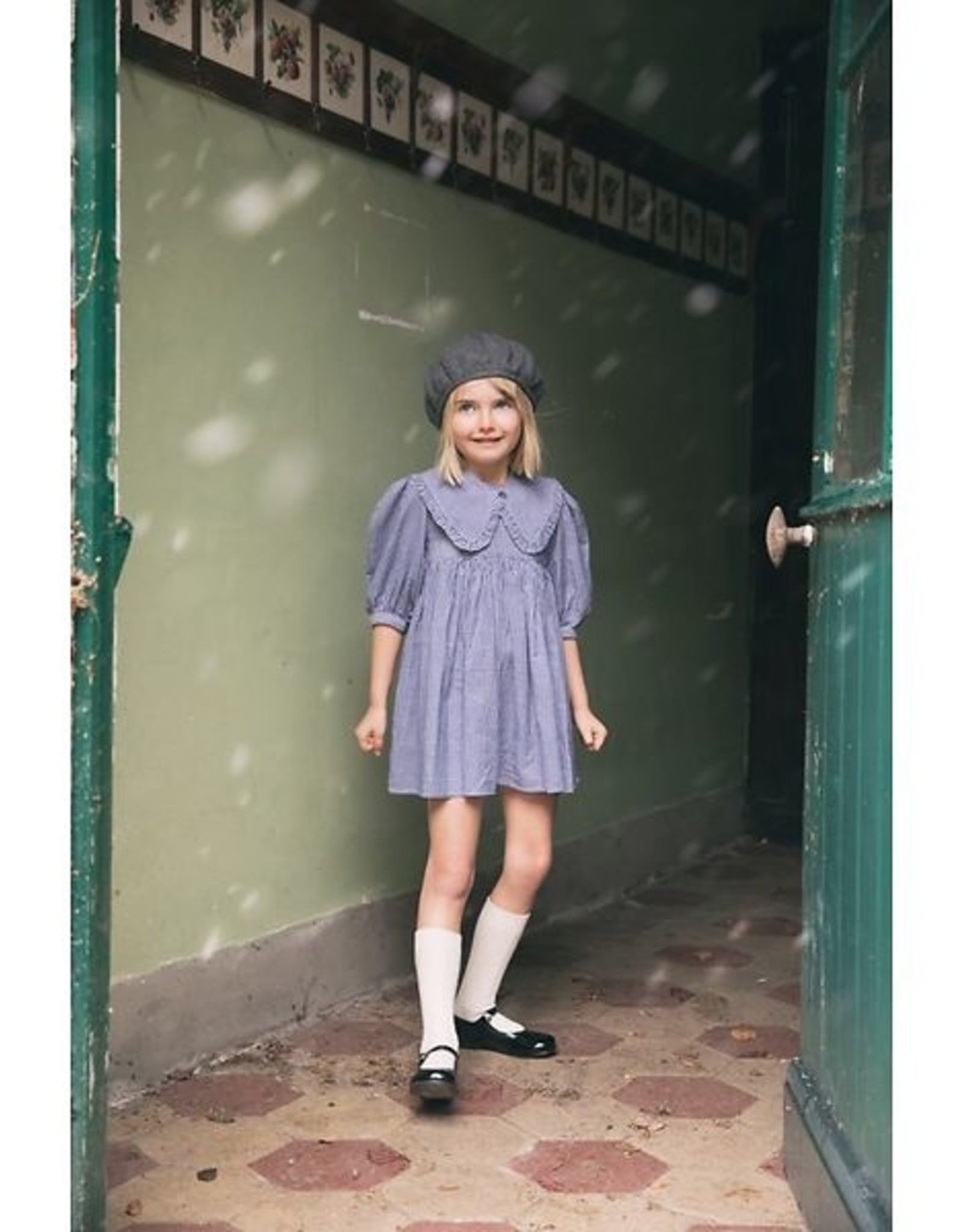 MORLEY MORLEY Noa pasubio bleu dress