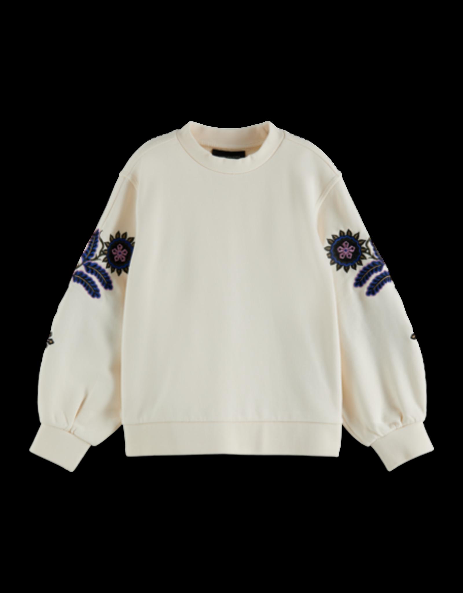 SCOTCH & SODA SCOTCH & SODA Sweater detail op mouw