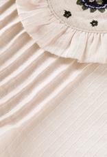 SCOTCH & SODA SCOTCH & SODA Blouse nude met detail op kraag