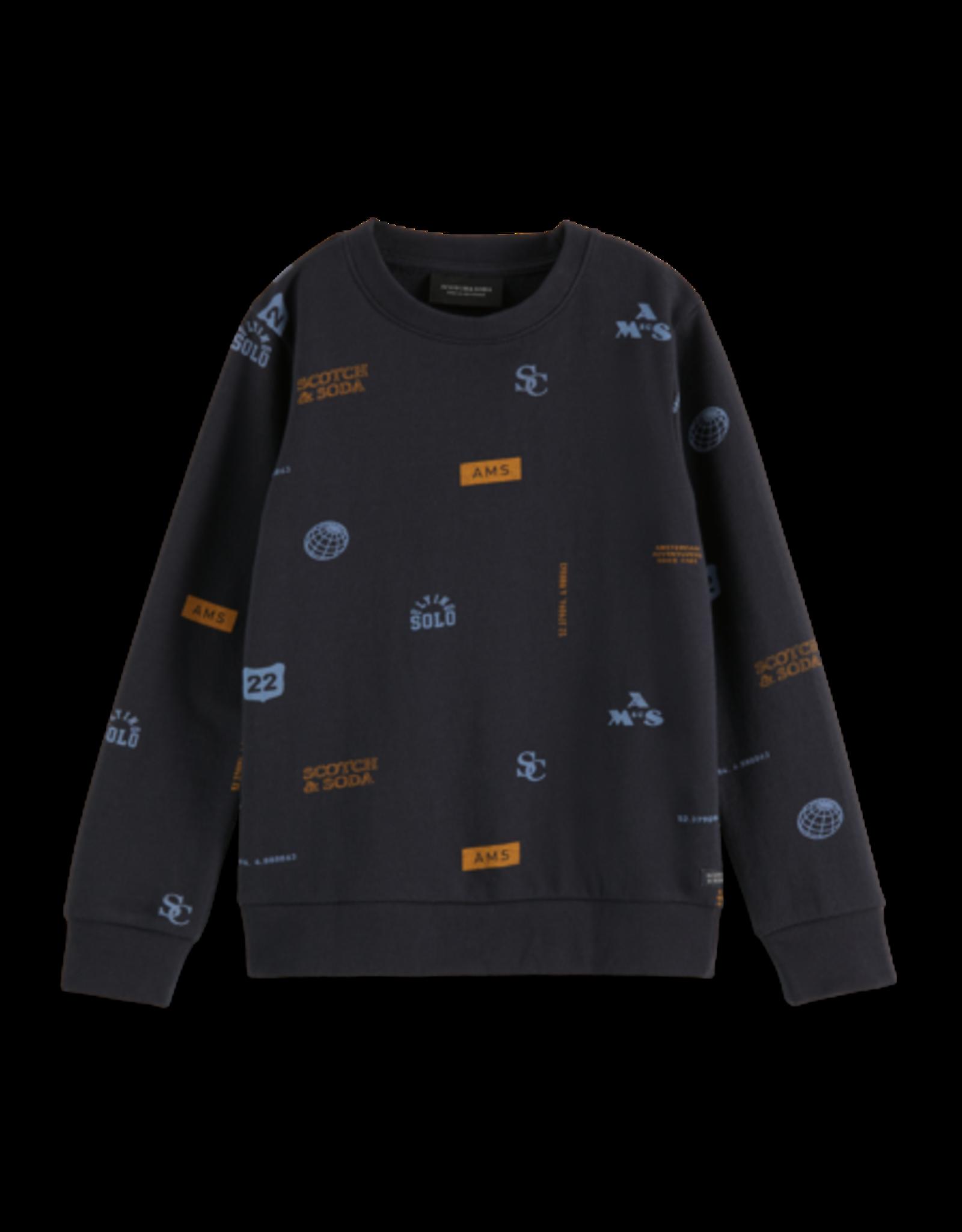 SCOTCH & SODA SCOTCH & SODA Sweater met print