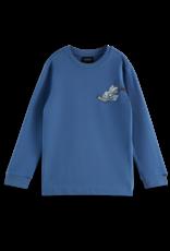 SCOTCH & SODA SCOTCH & SODA T-shirt blauw met print