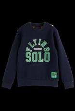SCOTCH & SODA SCOTCH & SODA Sweater met tekst