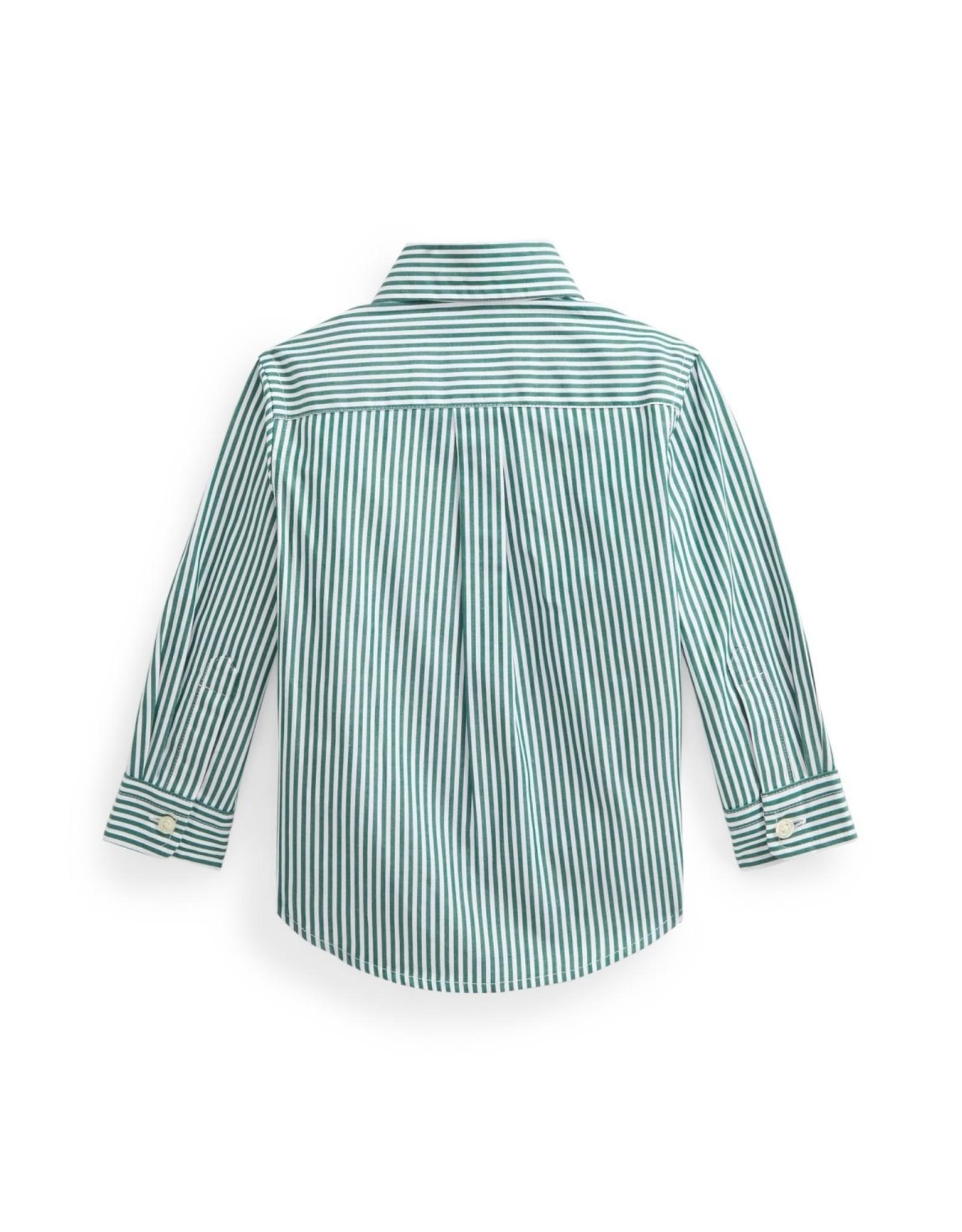 RALPH LAUREN RALPH LAUREN Hemd groen gestreept