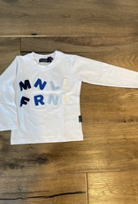 MANUELL & FRANK MANUELL & FRANK T-shirt white 7155N