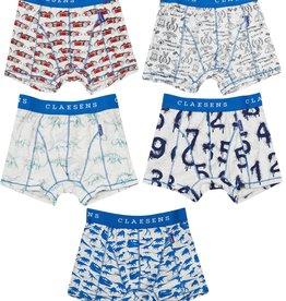 CLAESEN'S CLAESEN'S Boys boxershort  numbers 5pack