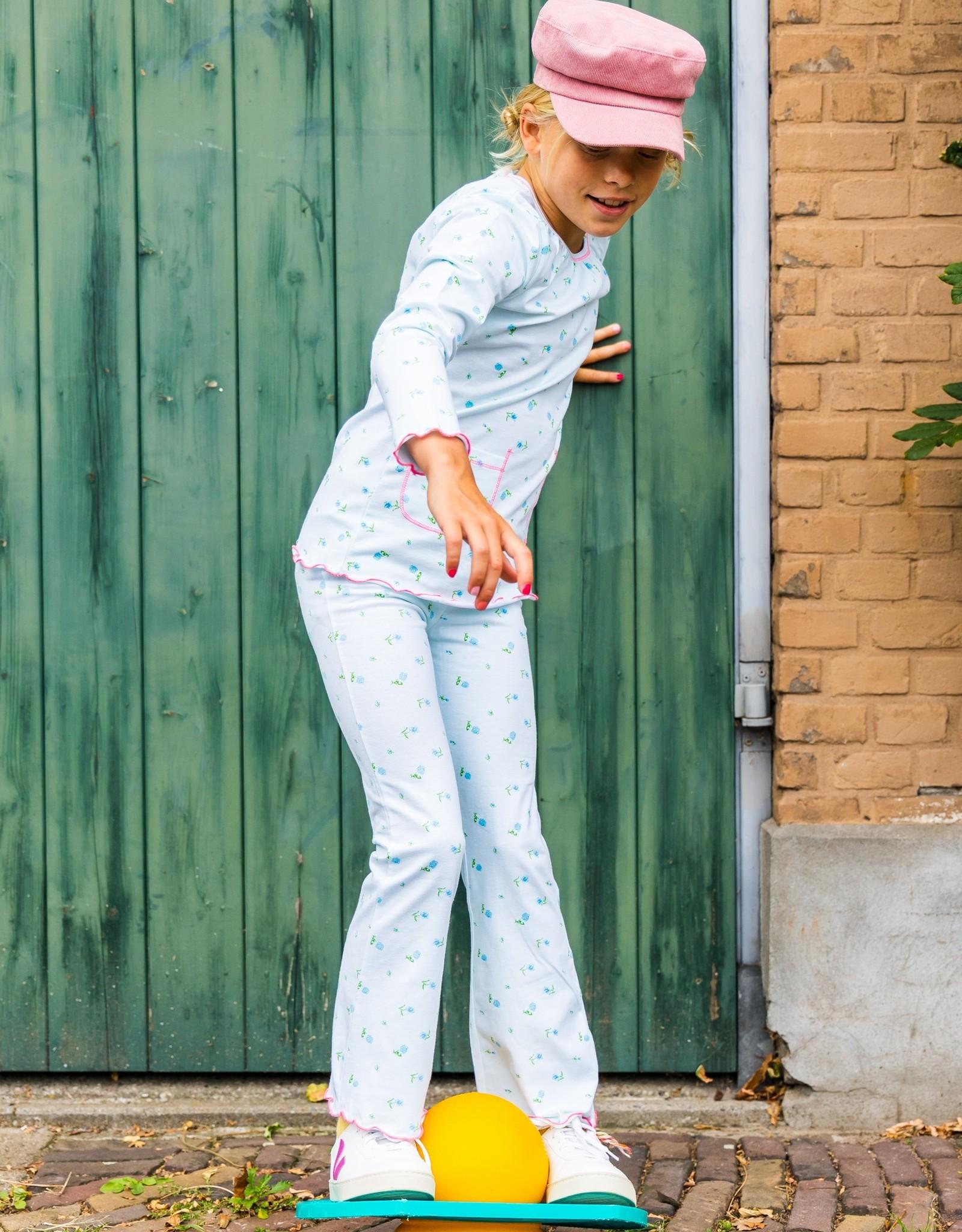 CLAESEN'S CLAESEN'S Girls pyjama flower checks