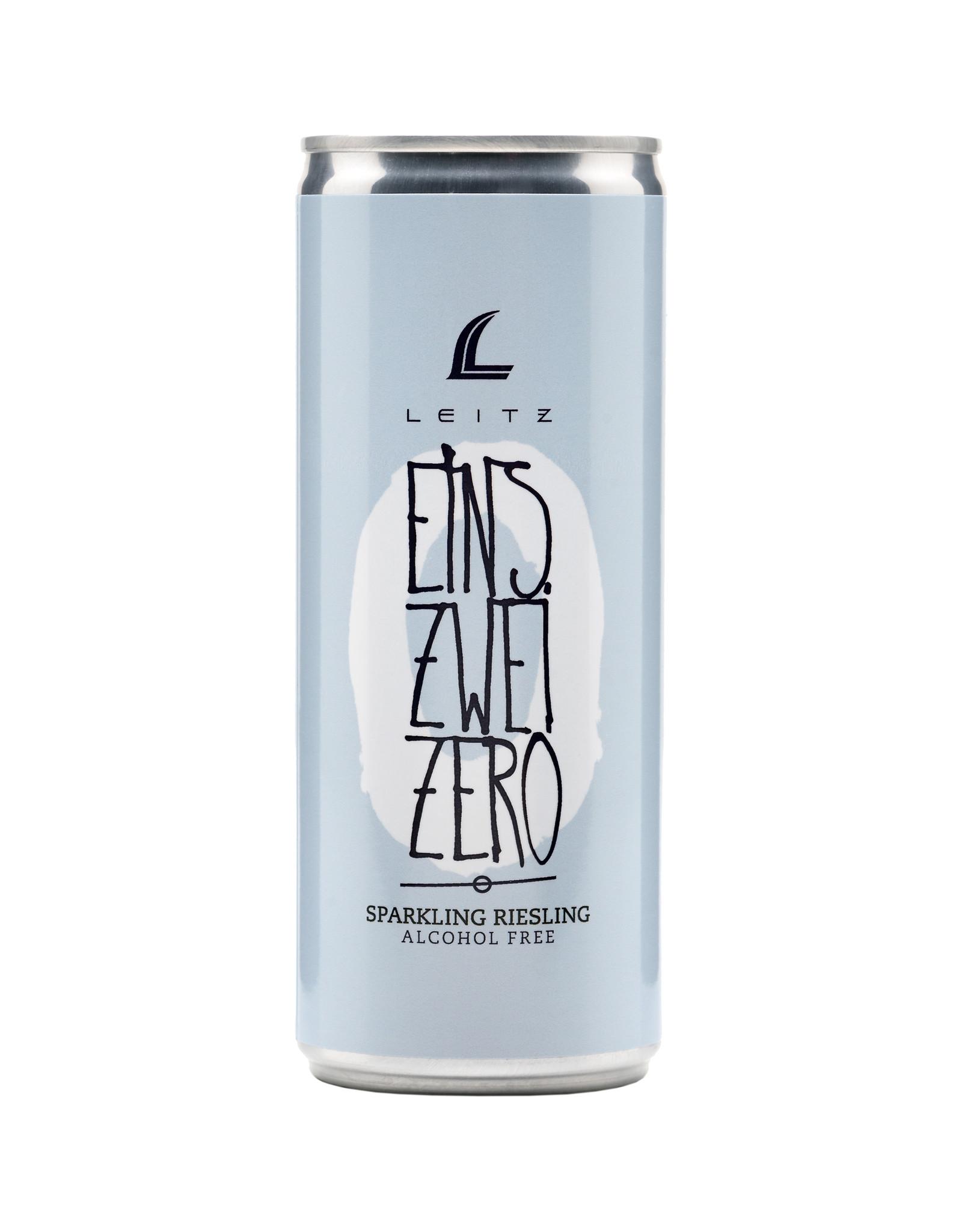 Weingut Leitz Eins-Zwei-Zero Sparkling Riesling blik 0,25 ltr