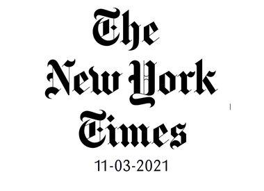New York Times 13-03-2021