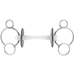 Nathe 3-ring bit 20 mm with flexible Mullen Mouth