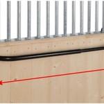 Stubbs Extendable rug rail