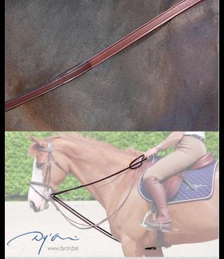 Dy on Draw Reins 1/2 Hunter Grip