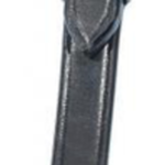 Busse Cheek Pieces SOLIBEL black/stainless steel Cob
