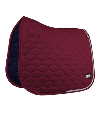 Fairplay Saddle Pad Hexagon crystal