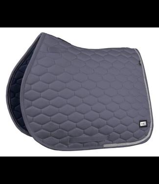Fairplay Saddle pad Hexagon Crystal Grey VS