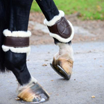 Kentucky Sheepskin Leather Fetlock Boots