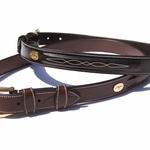 Dy on Fancy Leather Belt