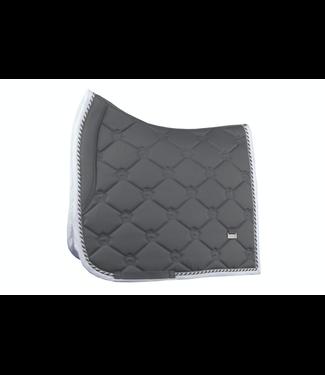 PS Of Sweden Monogram Saddle Pad, Charcoal