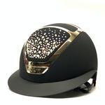 Kask Star Lady Chrome, Swarovski Pearls Rosé Black 2 (57-59)