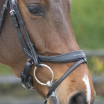 LJ Leathers Pro Selected Primus Anatomical Combined Nose Strap
