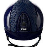 Kep KEP cromo polish blue - polish blue frame and grid - Zebra style inserts Blue M
