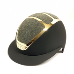 Kask Star Lady Gold, Black, Swarovski Carpet Black 2 (57-59, 7 1/8-7 3/8)