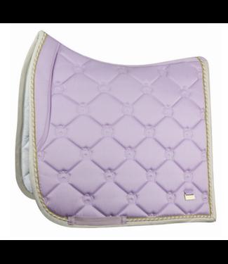 PS Of Sweden Saddle Pad Monogram Soft Lilac