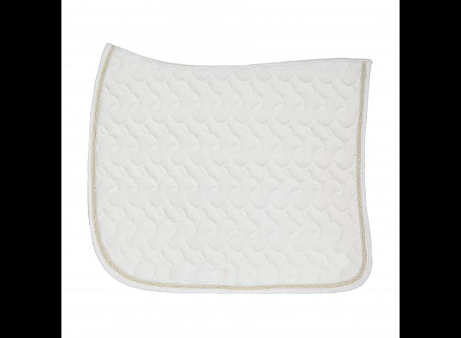 Dressage saddle pad Kentucky White Full