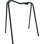 Stubbs Saddle Display Stand BlacK W 55cm, L 56 cm, W 2.4kg//Collector Height 70 cm//Depth 33 cm//Rake Height 84 cm//Total Weight 1.7 kg//Width 36 cm