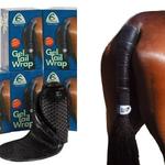 Acavallo Gel Tail Wrap Black One Size