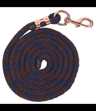 Zilco Bracelet Braided Lead - Navy/Brown Navy/Brown 2,5m