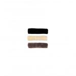 Kentucky Neusriemcover Wol Zwart Zwart 28cm