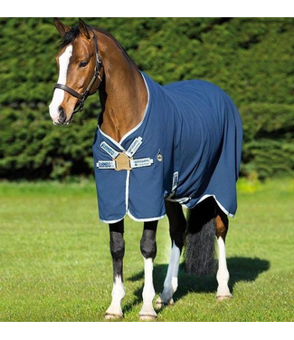 HorseWare Rambo Helix Sheet with Disc Front Closure//Lite 0g//Stable sheet