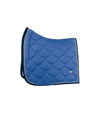 PS Of Sweden Monogram Saddel Pad, Blueberry
