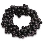 SD Design Pearl Collection Scrunchie Black Black
