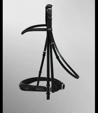 Passier Hubertus Schmidt Double Bridle Black Luxury Edition