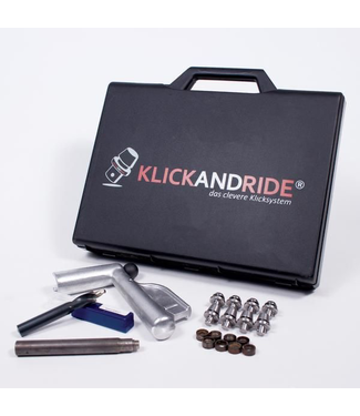 Klick and Ride Stud System -Starter Kit One Size