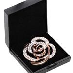 SD Design DIAMOND ROSE STOCK PIN
