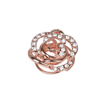 SD Design DIAMOND ROSE HAIR TWISTER. ROSE GOLD Rose Gold One Size