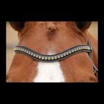 Dy on Browband Golden Swarovski V shape Full
