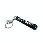 Schumacher Key hanger Jet-Crystal, silver