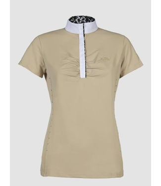 Equiline Woman competition polo shirt Angie
