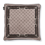 Adamsbro Velvet Equi Luxury Cushion Camel 50x50