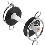 Nathe 3- Ring Bit With Sliding Cheek