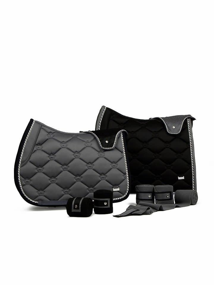 PS Of Sweden Saddle Pad, Anthracite & Black
