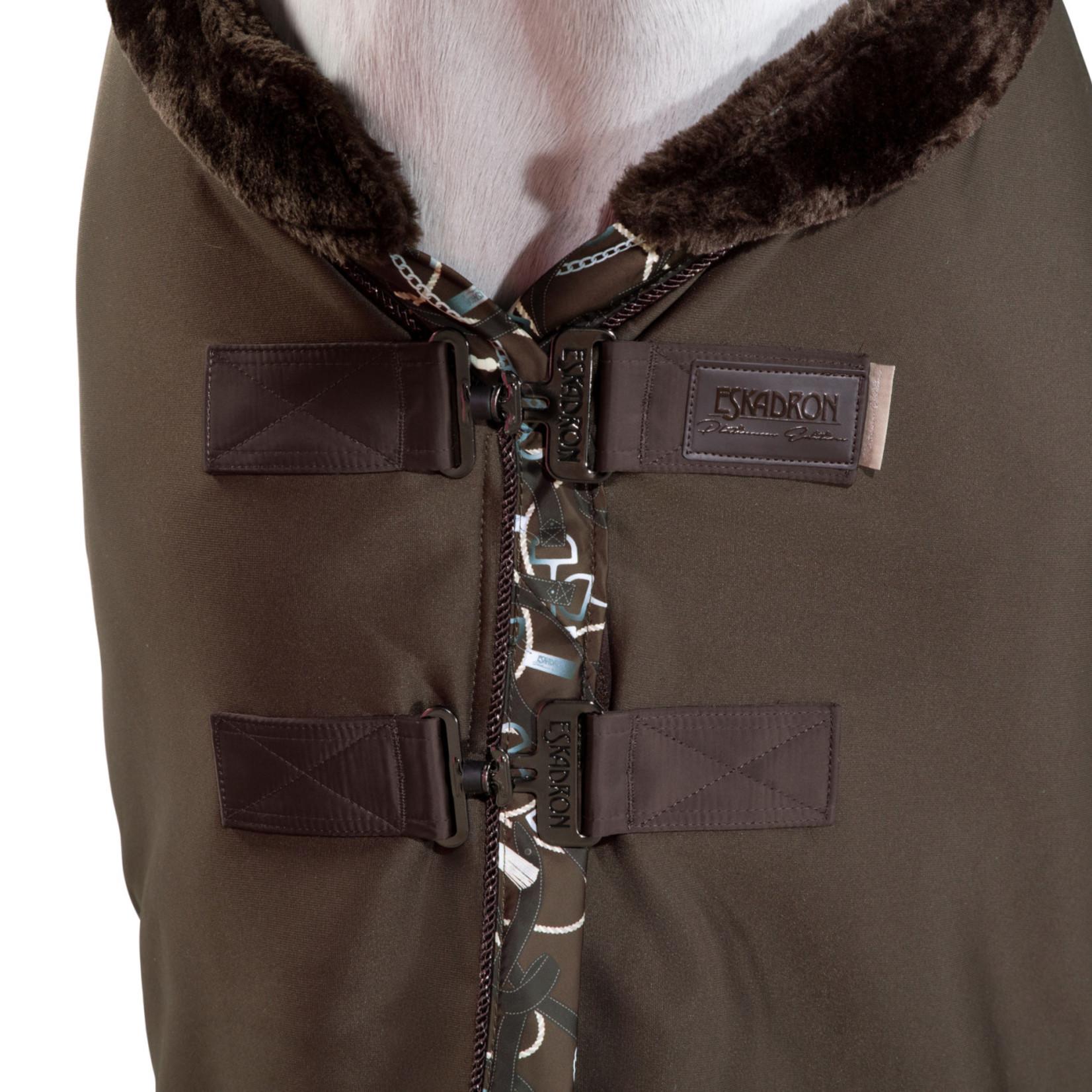 Eskadron Sweat Rug Jersey Fauxfur Collar Platinum 20