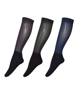 Kingsland KLdex Unisex Show Socks 3-pack