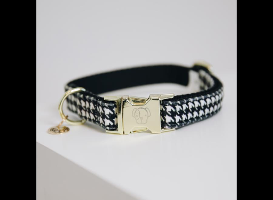 Dog Collar Pied-De-Poule