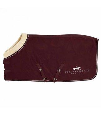 Schockemohle Premium Fleece Rug Faux Fur